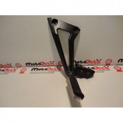 Pedana posteriore sinistra left footpeg footboard Yamaha FZ6 S2 Fazer 07 11