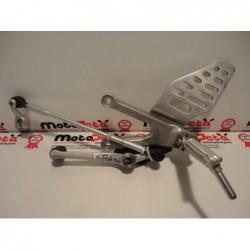 Pedana anteriore sinistra cambio left shift footpeg bracket Yamaha R6 06 09