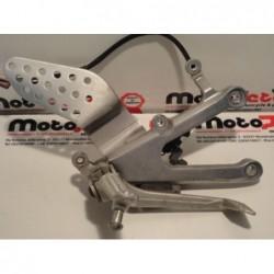 Pedana anteriore destra brake footpeg bracket rechter Yamaha YZF R1 02 03