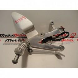 Pedana anteriore destra freno brake footpeg bracket yamaha YZF R1 98 99