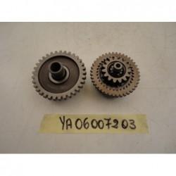 Ingranaggi avviamento Starter motor gear Yamaha Tenerè xt 660 z 08 15 MT03 06 14