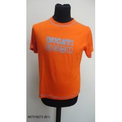 T-shirt maglietta arancione...