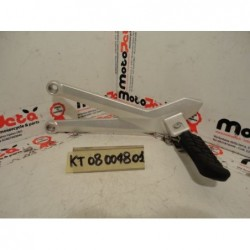 Pedana posteriore SX footpeg footboard Ktm 690 smc 07 14