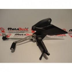 Pedana anteriore sinistra cambio left shift footpeg bracket rechter footrest Kawasaki Z1000 10-13