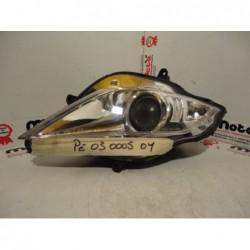 Faro fanale anteriore destro headlight right front Peugeot geopolis 250 300