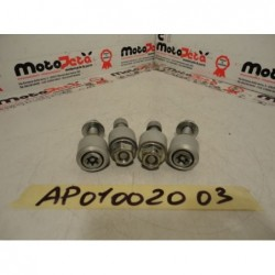 perni + boccole telaio frame pins bushings aprilia Dorsoduro 750 08 14