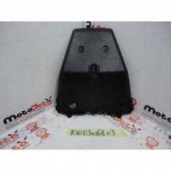 Plastica Copertura portatarga plastic cover plate holder Kawasaki ZX10 R 12 14