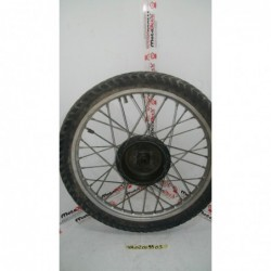 Cerchio anteriore ruota wheel felge rim front Yamaha XTX 500 Storto