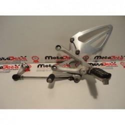Pedana anteriore sx cambio footpeg bracket footrest Honda cbr600f sport 01 06