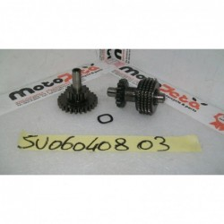 Ingranaggi motorino avviamento starter motor gear Suzuki Burgam 650 02 06