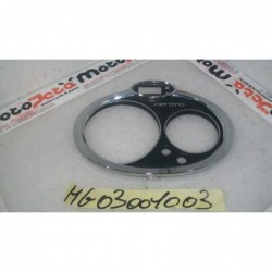 Plastica copertura faro carena plastic cover headlight fairing Malaguti centro 125 IE 07 11 Attacco rotto