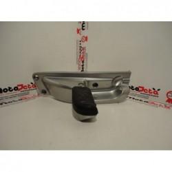 Pedana posteriore sinistra left footpeg footboard Aprilia Scarabeo 300 10 14