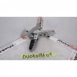 Pedana freno anteriore dx Front right footpeg Ducati Multistrada 1200 S 16 17