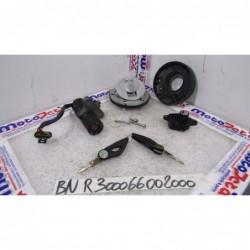 Kit chiavi serrature Lock key set Benelli TNT 1130 Sport 04 08