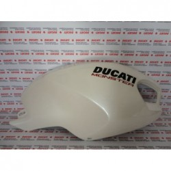 Carena serbatoio destra fairing right Ducati Monster 696 1100 796 Bianco Perla