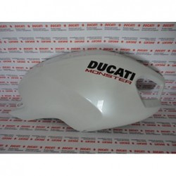Carena serbatoio destra fairing right Ducati Monster 696 1100 796 Bianco Artico