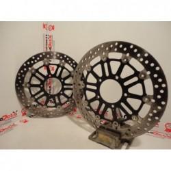 Dischi Freno Anteriori Brake Rotor Front MV Agusta Brutale F3 Dragster 675 800