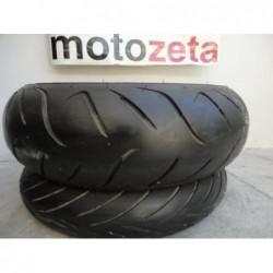 Pneumatici Gomme Usate Dunlop Sportmax Roadsmart Front Rear Tyre120/70-17 Dot 0712 190-55-17 DOT 2212