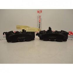 Pinze freno anteriori Monoblocco originali usate Front brake calipers Monoblock original used Honda vfr 1200 f 2009-2014