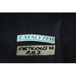 "Adesivo ""CATALYZED"" Decal..."