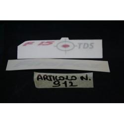 "Adesivi ""FIREFOX TDS F15""..."