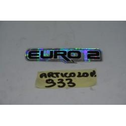 "Adesivo ""EURO 2"" Decal..."