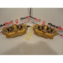 Pinze freno anteriori Front brake calipers kawasaki Ninja ZX10r 04 05 ZX6r 03 06