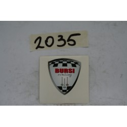 "Adesivo logo stemma ""BURSI..."
