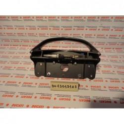 Maniglione posteriore rear handle Silver Ducati Supersport 600 750 900