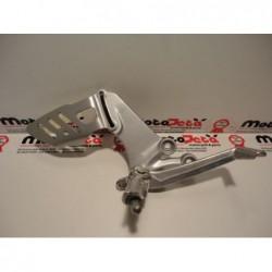 Pedana freno brake footpeg bracket rechter footrest Suzuki Gsxr 600 750 06 09