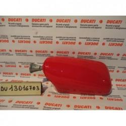 Cover Specchietto sinistro Destro  rosso Leftt Right Mirror rearview mirror Rückspiegel red Ducati Supersport SS 600 750 900