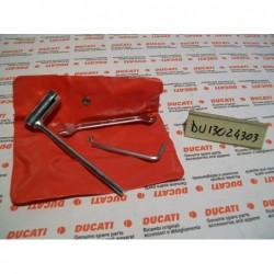 Kit attrezzi borse valigie Tool kit bags suitcases Ducati